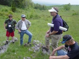 Geology Hike @ Yurt Deck | Circleville | West Virginia | United States