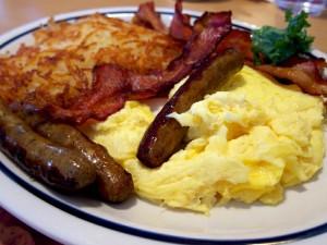 Breakfast @ Kitchen Yurt and Patio | Circleville | West Virginia | United States